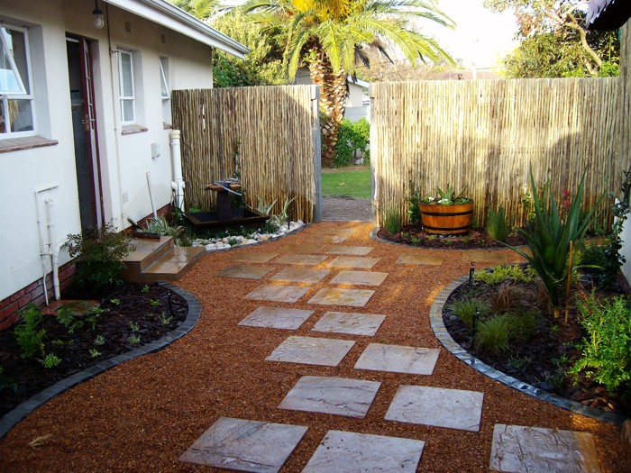 Staggered Paving