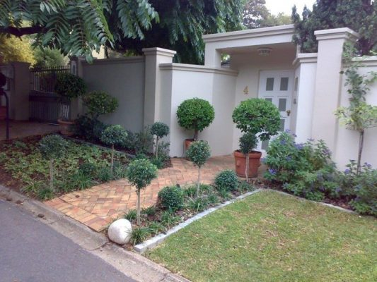 Front Entrance Planting