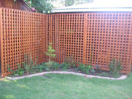 Wooden Wall Trellis